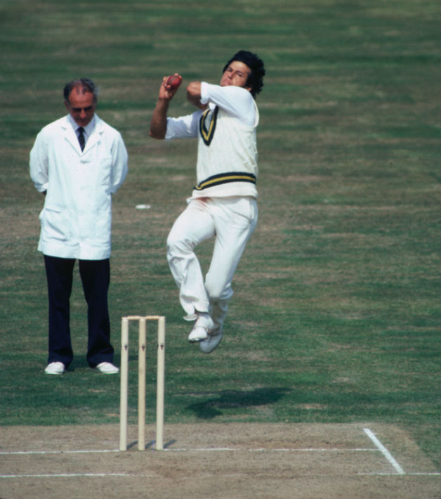 Imran Khan's first great spell: 6 wickets in each innings at ...