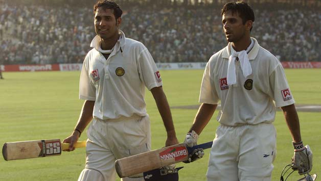 VVS Laxman, Rahul Dravid transform Eden Gardens into cricketing ...