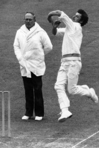 Richard Hadlee bowled very close to the stumps and bowled with robotic accuracy © Getty Images