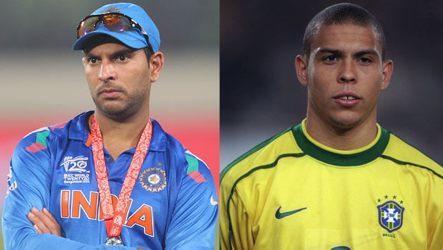 e8bc5351d Yuvraj Singh rekindles memories of the Ronaldo freeze in the 1998 FIFA  World Cup final - Cricket Country