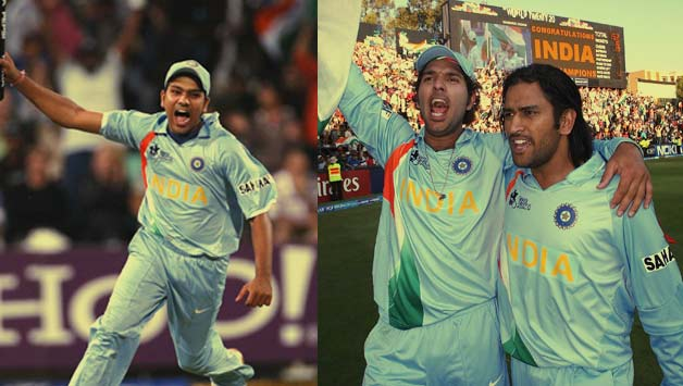 Ms Dhoni Yuvraj Singh Rohit Sharma Journey From Icc World T20 2007 To 2014 Cricket Country