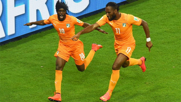 Didier Drogba (right) will be crucial to Ivory Coast s chances © Getty  Images 76d5905db