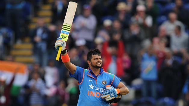 Suresh Raina's whirlwind century propels India to a formidable 304/6 against England in 2nd ODI at Cardiff - Cricket Country