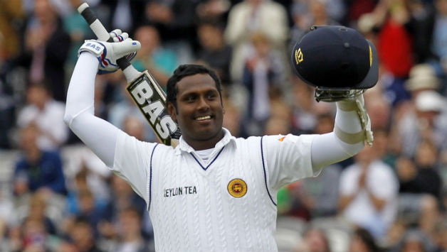 Angelo Mathews © AFP
