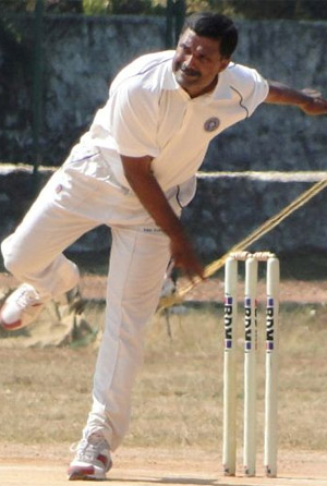 KN Ananthapadmanabhan was the first Kerala stalwart, but that dismissal immortalised his name © Trivandrum Cricket Archive