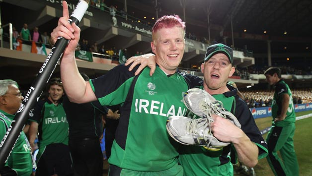 Kevin O'Brien (left) will be the X factor for Ireland with his all-round abilities © Getty Images