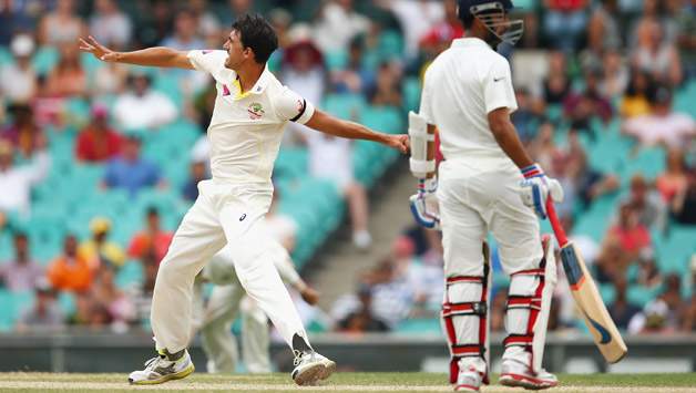 Australia gave India a few nervous moments on Day Five in Sydney © Getty Images