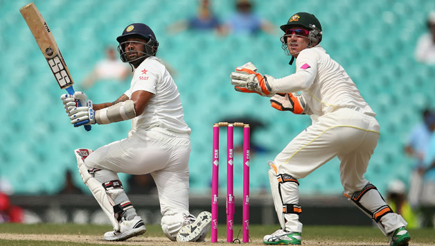 Murali Vijay in action on Day Five © Getty Images