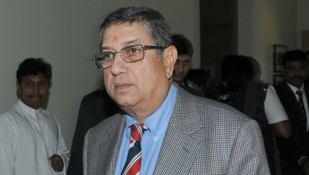 N Srinivasan was barred from contesting the elections for BCCI presidency by the Supreme Court © IANS