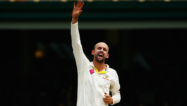 Nathan Lyon is purchasing turn on the Sydney track © Getty Images