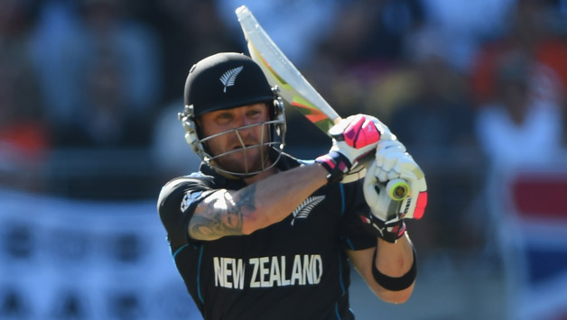 Brendon McCullum in no threat of serious injury after getting hit on arm  during ICC World Cup 2015 - Cricket Country