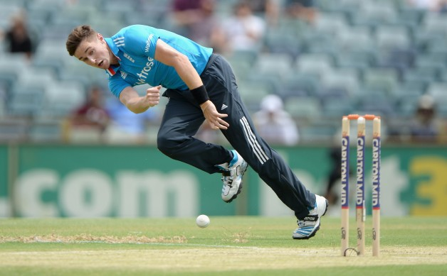 Chris Woakes was the star with the ball for England today © Getty Images