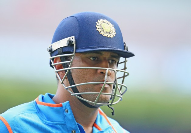 MS Dhoni will lead India in this edition of the World Cup © Getty Images