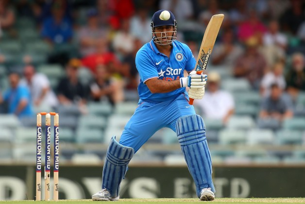 MS Dhoni will be one of the key figures in India's batting line-up at the World Cup © Getty Images