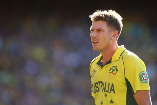 James Faulkner won the World Cup with Australia recently © Getty Images