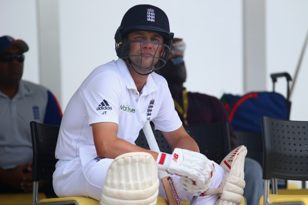 Jonathan Trott failed to make an impact in his comeback match against West Indies © Getty Images