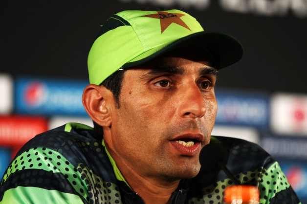 Misbah-ul-Haq led Pakistan to a quarter-final finish in ICC Cricket World Cup 2015 © Getty Images