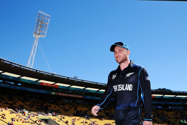 Brendon McCullum will resume leading New Zealand during New Zealand tour of England 2015 © Getty Images