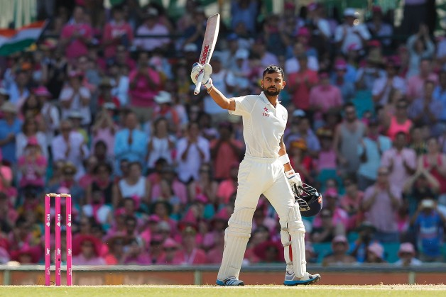 Virat Kohli was in tremendous form when India toured Australia in 2014-15 © Getty Images