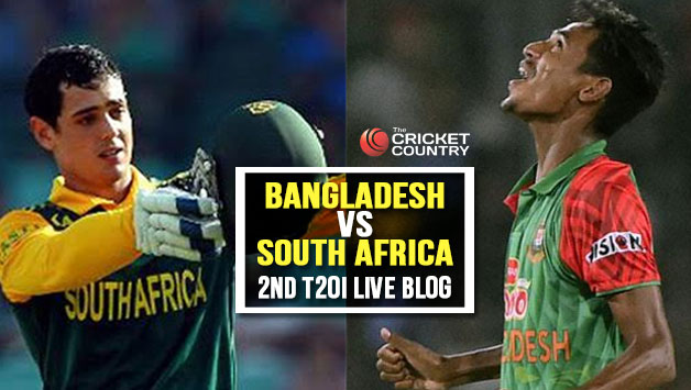 Live Cricket Score Desh Vs South Africa 2017 2nd T20i At Mirpur Ban 138 In 19 2 Overs Sa Win By 31 Runs Claim Series 0