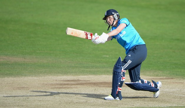 Charlotte Edwards led England Women to an important win in the first ODI © Getty Images