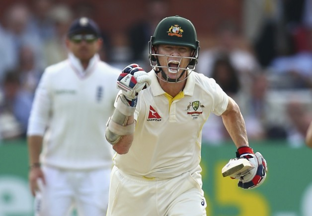 Chris Rogers scored a century in the 2nd Test at Lord's © Getty Images