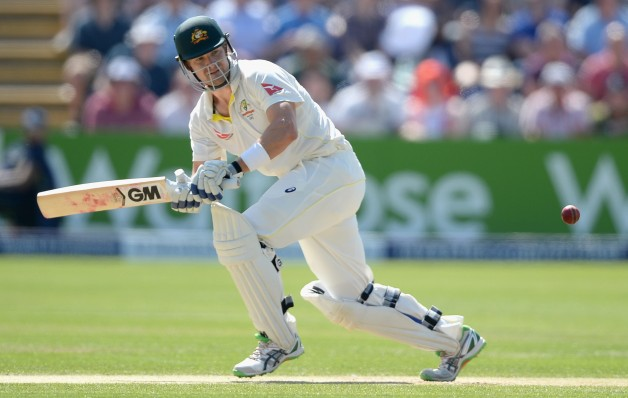 Shane Watson scored 30 and 19 in his two innings at Cardiff © Getty Images