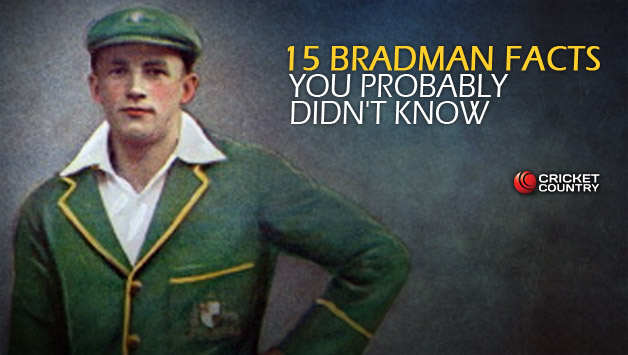 What do they know of The Don, who only Bradman know?