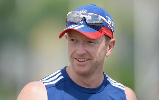 Paul Collingwood led England to their only World Cup T20 triumph © Getty Images