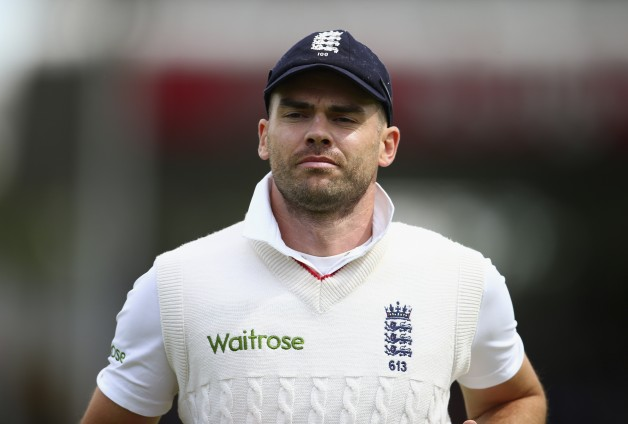 James Anderson has picked up 35 wickets in his 10 Tests at The Oval © Getty Images