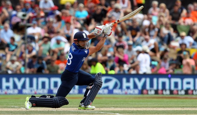 James Taylor led England in the one-off ODI against Ireland recently © Getty Images
