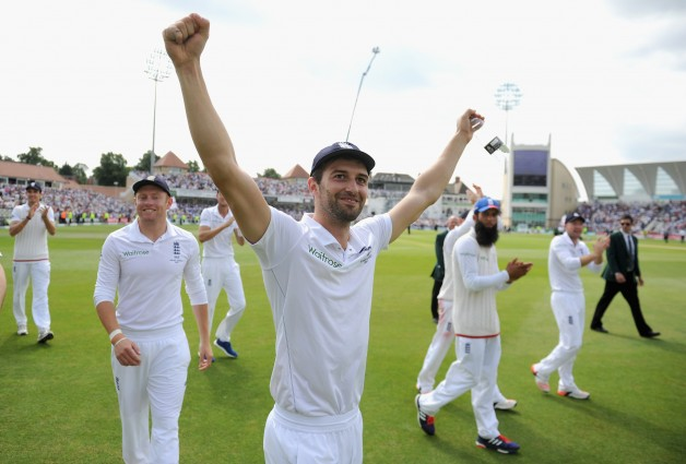 Mark Wood showed some resistance with the bat as well in The Ashes 2015    Getty Images