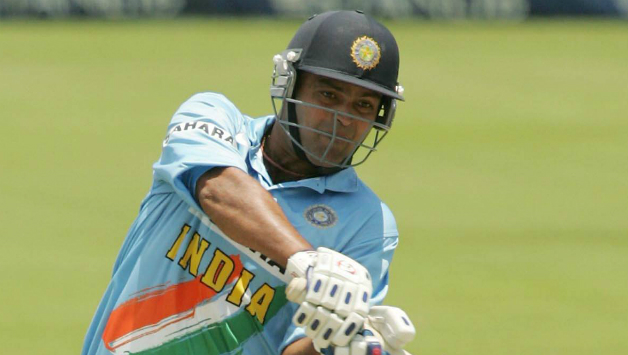 Dinesh Mongia hammered his way to a maiden ODI century against Zimbabwe.