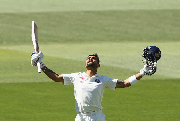 Virat Kohli has been in good form with the bat since he took over as India's Test skipper  © Getty Images