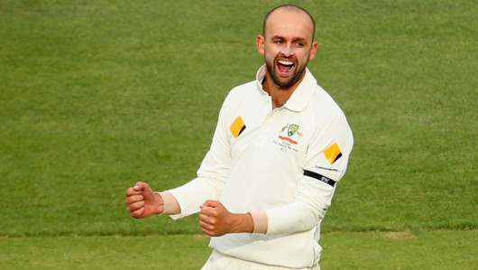 Nathan Lyon put the skids under the flailing West Indies as Australia set course for an overwhelming early victory © Getty Images