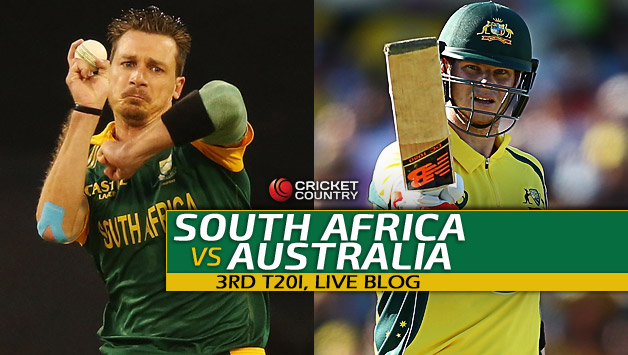 Aus 181 4 In 20 Overs Live Cricket Score South Africa Vs Australia Sa 3rd T20i At Cape Town Win By Six Wickets Country
