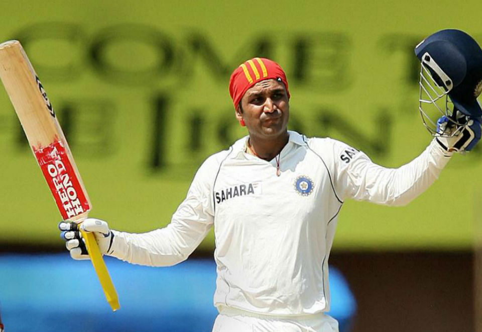 Rare facts about Virendar Sehwag
