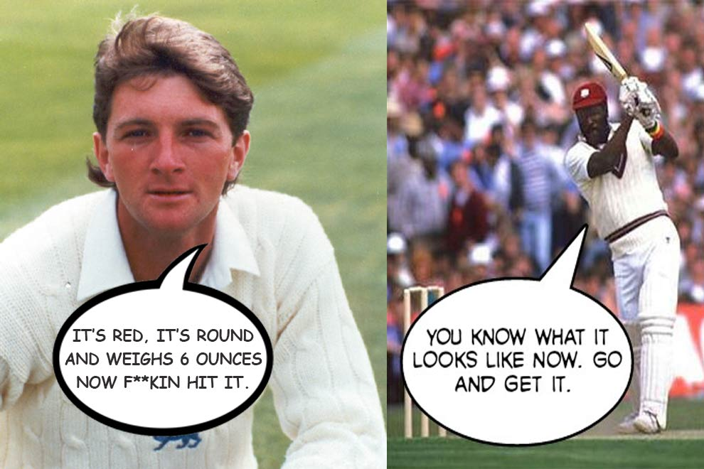 Funniest reply of Opponent Sledging