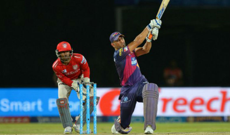 Video: Thrilling finish by MS Dhoni in final over against Kings XI Punjab at Visakhapatnam - Cricket Country
