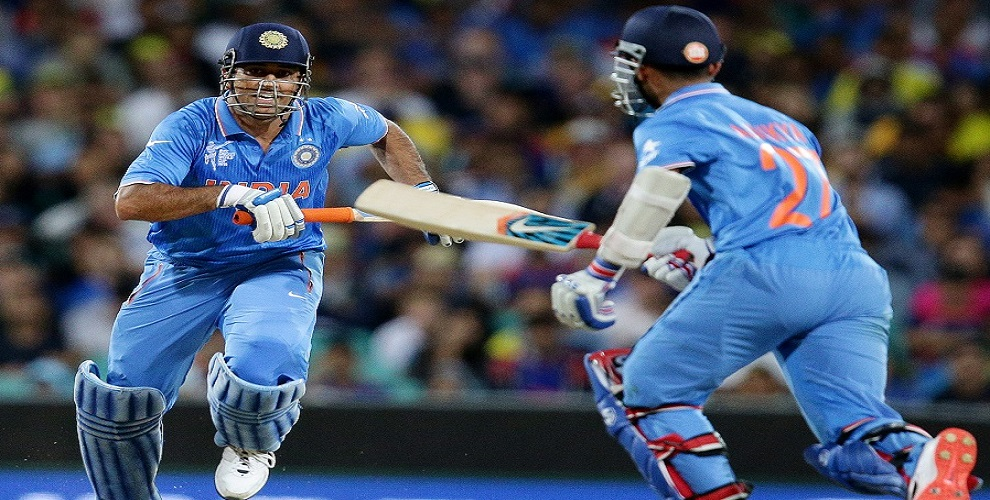 Is MS Dhoni faster than Usain Bolt