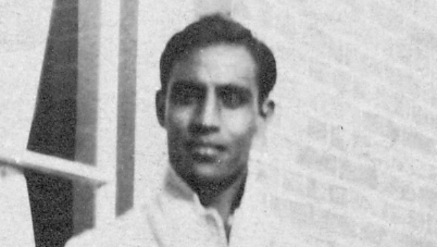 Syed Mohammad Hadi scored 132 not out in his team's score of 227, becoming the first ever centurion in Ranji Trophy cricket © Wikipedia
