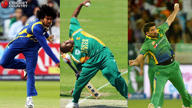 10 bowlers with unusual bowling actions in cricket cricket country
