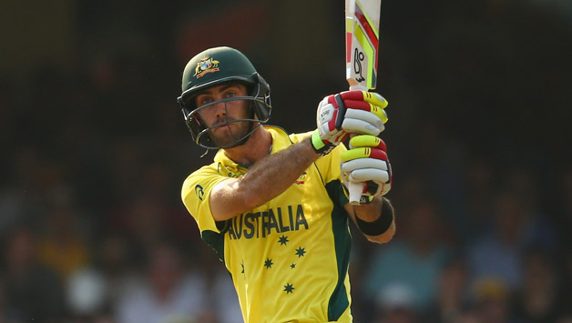 Glenn Maxwell's 66 proved decisive in the end as Australia went past Sri Lanka's score of 128 © AFP