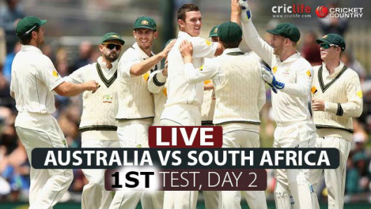 Australia will look to take a massive lead on Day 2.