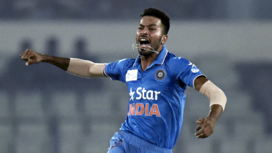 Hardik Pandya will look to grab the opportunity     AFP
