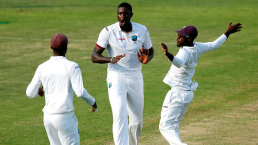 Jason Holder rocked Pakistan   s top order on Day Three    Getty Images