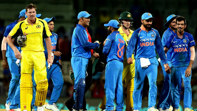 India Defeated Australia By 26 Runs Dls Method Getty Images
