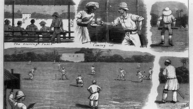 19th-century cricket in India, published in The Graphic, 1878 © Getty Images (representational image)