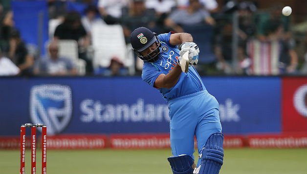 Rohit Sharma finally found some form and took on South Africa's bowling © AFP