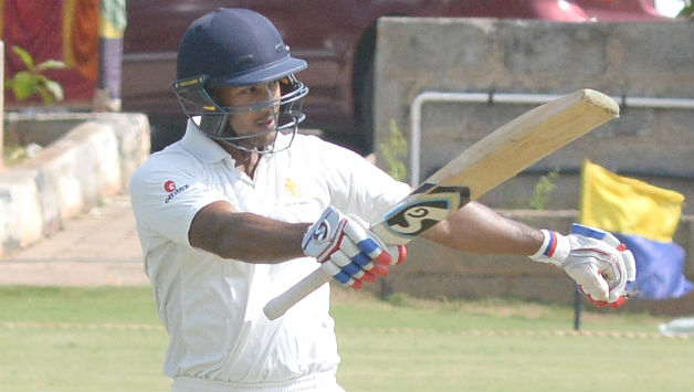 Mayank Agarwal top-scored for Karnataka © IANS